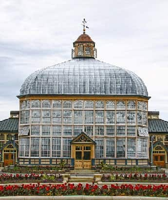 Druid Hill Conservatory in Baltimore Maryland