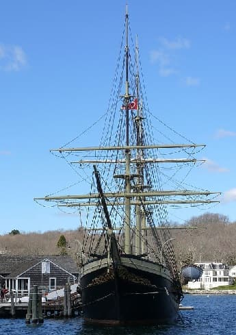 Mystic Seaport in Connecticut