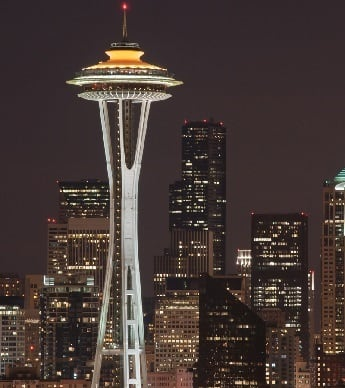 Seattle Space Needle in Washington State