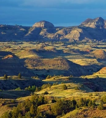 Theodore Roosevelt National Park in ND